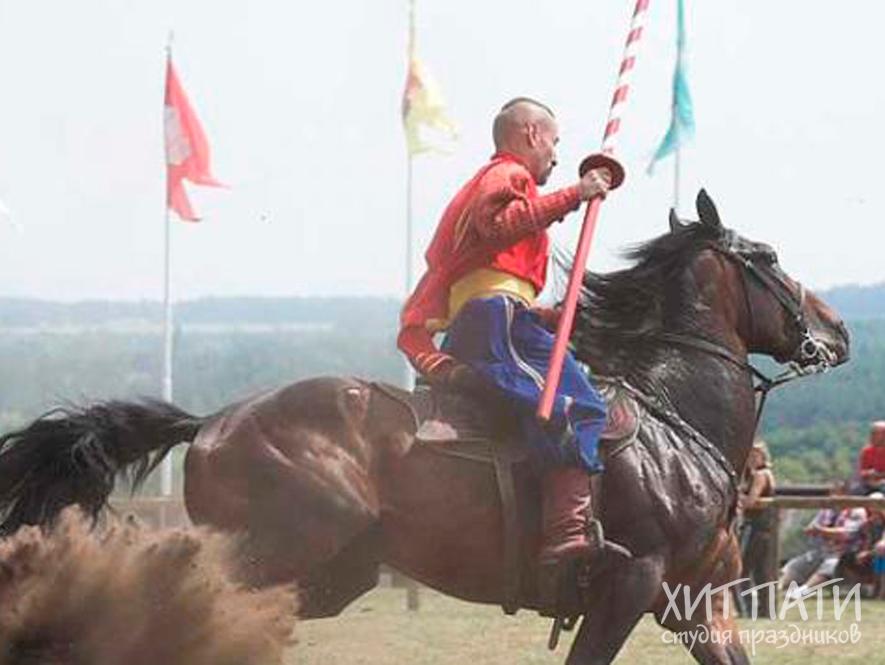 Команда украинских казаков