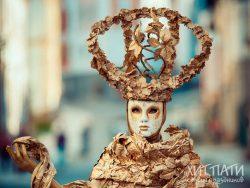 Живые статуи Киев
